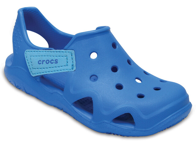Crocs Swiftwater Wave Slippers Kids Ocean